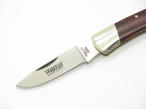 Vtg Whitby Silver Sabre Seki Japan Seizo Imai Med Folding Lockback Pocket Knife