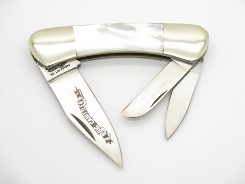 Vtg Parker Cut Co. Seizo Imai Seki Japan Mother of Pearl Stainless Pocket Knife