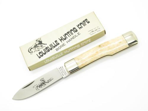 Vtg Parker Cut Co Seizo Imai Seki Japan Louisville Hunting Folding Pocket Knife