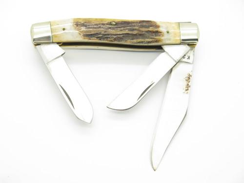 VTG PARKER EAGLE BRAND K-296 SEIZO IMAI SEKI JAPAN STAG FOLDING POCKET KNIFE