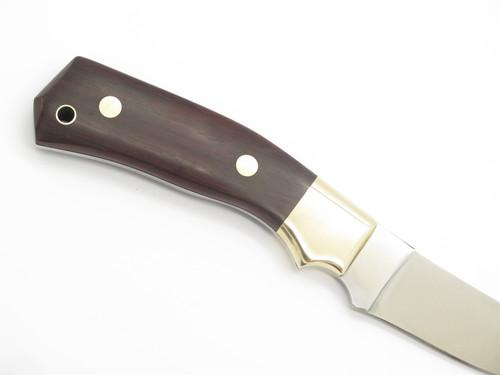 VTG 1980s PARKER CUT CO TAK FUKUTA SEKI JAPAN ROSEWOOD FIXED BLADE HUNTING KNIFE