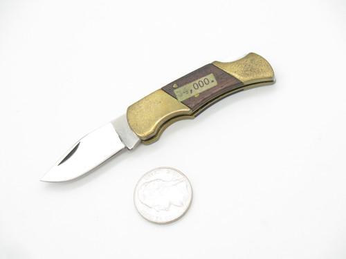Vtg Parker Prototype Seizo Imai Seki Japan Mini Folding Hunter Pocket Knife