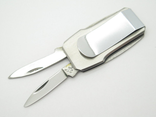 Parker Frost Seki Japan Lobster Money Clip Stainless Folding Pocket Knife