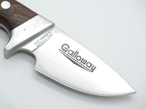 Vtg 1970s Hattori Kenward Galloway Seki Japan Fixed Blade Hunting Knife In Box