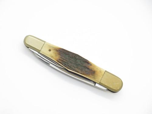 Vtg Parker Seizo Imai Seki Japan Stag Whittler Folding Pocket Knife (Blem)