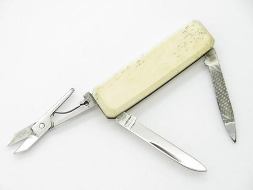 Parker Eagle Brand Seki Japan Small Lobster Bone Folding Pocket Knife