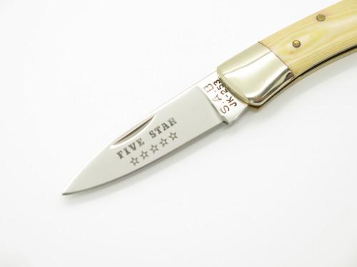 Vtg Joy Five Star JK-253 Seizo Imai Seki Japan Mc Small Folding Lockback Knife
