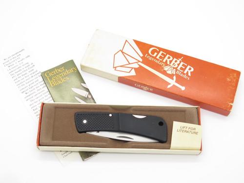 Vtg NOS Gerber Portland OR USA 6009 LST Lightweight Folding Lockback Knife