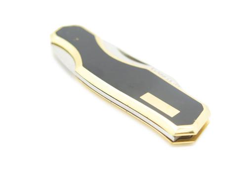Vtg Hoffman Design M. Kawakami Seki Japan Gentleman Folding Pocket Knife Black B