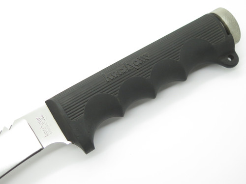 Vtg 1980s Kershaw 1005 SF Hattori Seki Japan Fixed Blade Hunting Survival Knife