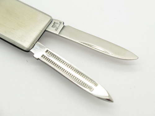 Nos Parker Frost Seki Japan Stainless Money Clip Folding Pocket Knife