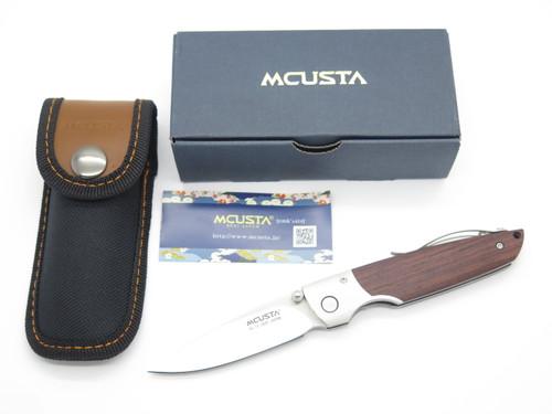 Mcusta Seki Japan MC-0143R Tiana VG-10 Cocobolo Folding Linerlock Pocket Knife