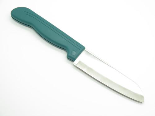 Kanetsugu Out in Seki Japan Green Folding Santoku Kitchen Cutlery Camp Knife