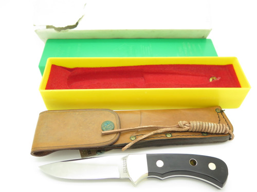 Vtg 1981 Puma 6025 Nicker Solingen Germany Fixed Blade Hunting Knife In Box