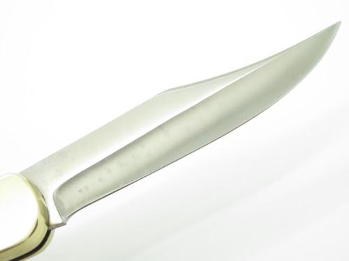 "Vtg 1977 Puma 970 Game Warden Solingen Germany 5"" Folding Hunter Lockback Knife"