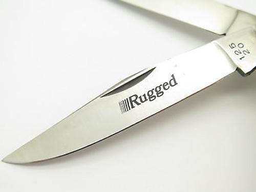 Parker Frost Rugged 125-20 Seki Japan Stag Trapper Folding Pocket Knife