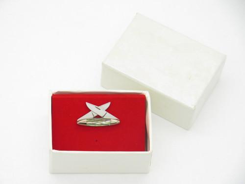 Parker Eagle Seki Japan Tie Tack Hat Pin Miniature Folding Pocket Knife