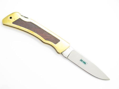 "Vtg NOS 1980 Explorer Imai Seki Japan 4"" Gentleman Folding Lockback Pocket Knife"