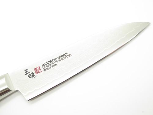 Mcusta Zanmai Classic Pro Petty 110mm Seki Japanese Damascus Kitchen Chef Knife