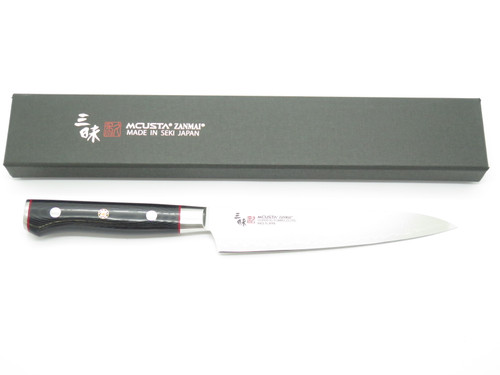 Mcusta Zanmai Classic Pro Paring 150mm Seki Japanese Damascus Kitchen Chef Knife
