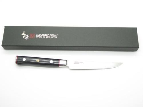 Mcusta Zanmai Classic Pro Seki Japanese Damascus Kitchen Steak Paring Knife