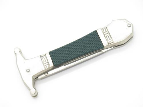 Vtg c. 1970 Shelham Australia Imai Seki Japan Lockback Folding Boot Dagger Knife