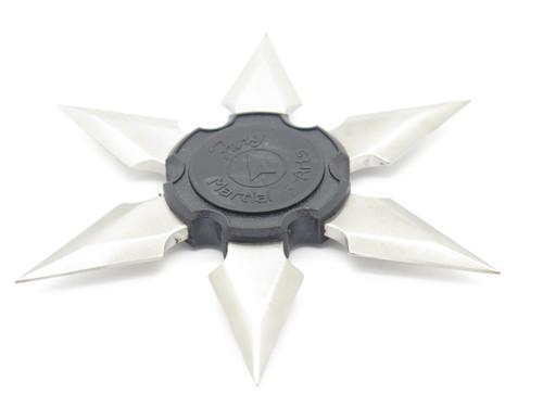 Vtg 1980s Fury Martial Arts Shuriken Dragon Ninja Seki Japan Tak Fukuta Stainless Steel 6 Point Throwing Star