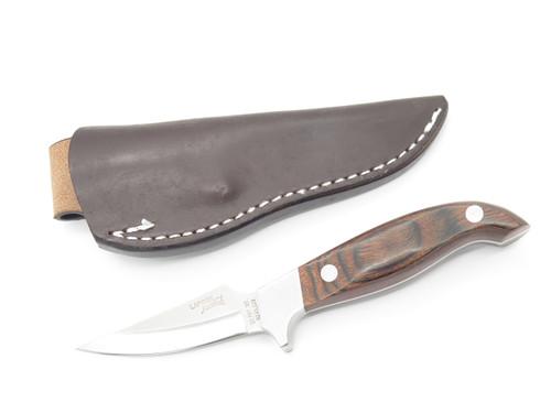 Vintage Lakota Fin Wing Hoffman Seki Japan AUS-8 Small Fixed Hunting Knife