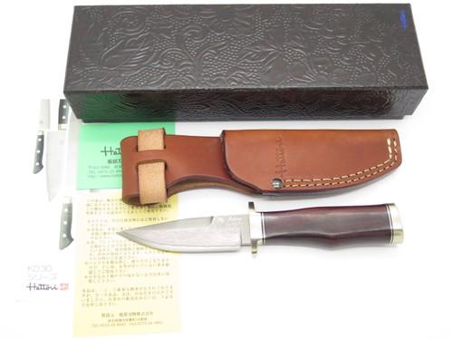Hattori KD30-101 Seki Japan Custom Master Hunter I Fixed Blade Hunting Knife