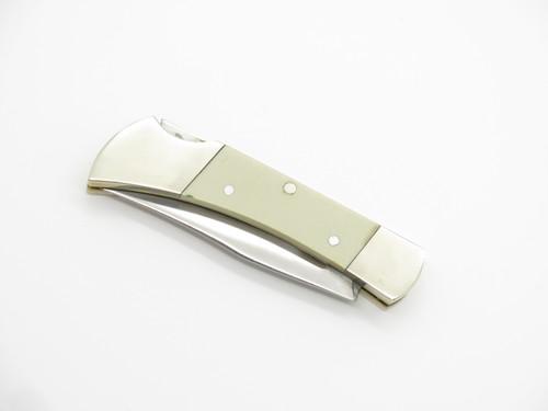 "Vtg Explorer 11-422 Fukuta Seki Japan 3"" Gentleman Folding Lockback Pocket Knife"