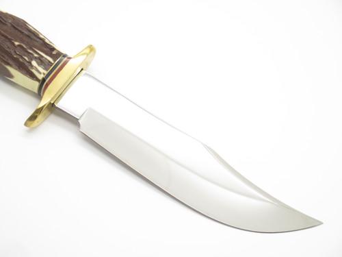 """Vtg 1980s Frost Cutlery Tak Fukuta Seki Japan Fixed Blade """"Original Bowie"""" Knife"""