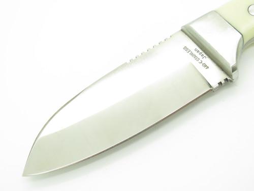 Vtg Myerchin Hiro Seki Japan White St Offshore Marine Whale Rigging Fixed Knife