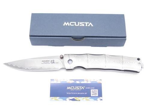Mcusta Seki Japan Takeri MC-202G Bamboo San Mai SPG2 Folding Pocket Knife