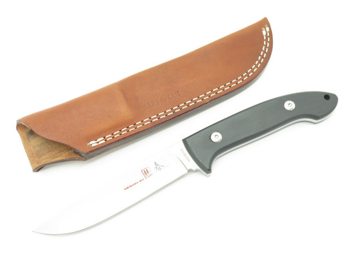Vtg Seki Cut Bob Lum SC-116 Large Encounter G10 ATS-34 Fixed Blade Hunting Knife