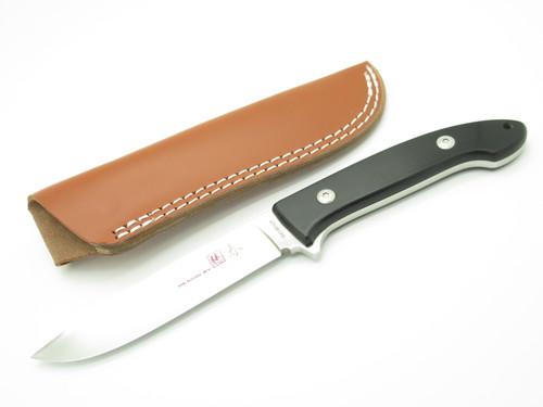 Vtg Seki Cut Bob Lum SC-116 Large Encounter Blk ATS-34 Fixed Blade Hunting Knife