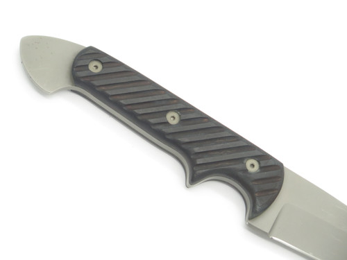 Vintage Crawford Custom Kasper Dragon Wharncliffe Fixed Blade Tactical Knife