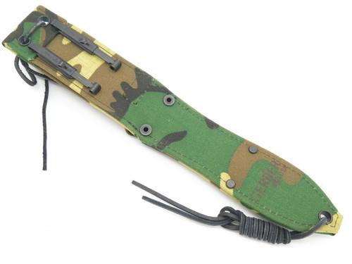 Vtg 1980s Gerber Guardian II Camouflage Fixed Blade Dagger Knife