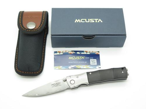 Mcusta Seki Japan MC-0146G Ebony Bamboo San Mai SPG2 Gent Folding Pocket Knife