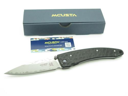 Mcusta Seki Japan Shadow MC-0114BD VG-10 Damascus Framelock Folding Pocket Knife