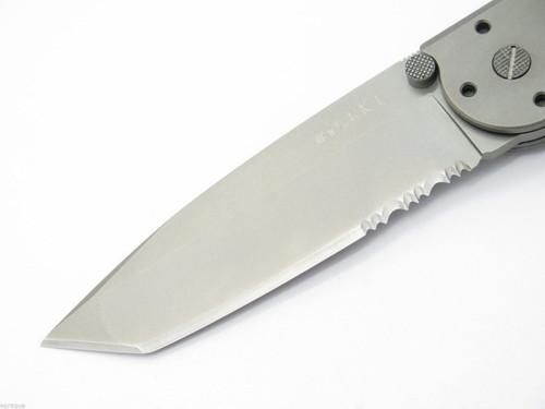 NOS Columbia River CRKT M16-14T Titanium Kit Carson Tanto Folding Knife New