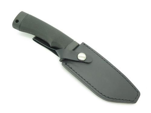"Katz 103 Black Handle Seki Japan 4.75"" XT70 Fixed Skinner Hunting Knife"