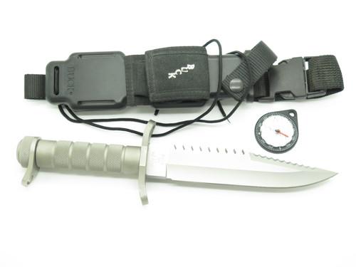 Vintage 1985 Buck 184 Buckmaster Var. 3 Fixed Bowie Navy Seal Survival Knife