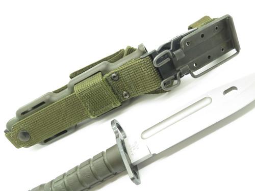 Vintage 1989 Buck 188 Phrobis Civilian Four Line Survival Fixed Combat Knife