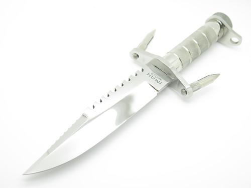 Vtg Imax Master Seizo Imai Seki Japan Buckmaster Style Mirror Polished Fixed Bowie Survival Knife