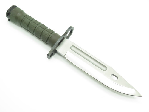 Vintage Custom Buck 188 Phrobis Polished Survival Fixed Blade Combat Knife
