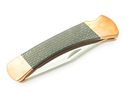 Buck BCCI 110 Copper S30V 110CFSBCCI Custom Limited Folding Hunter Knife