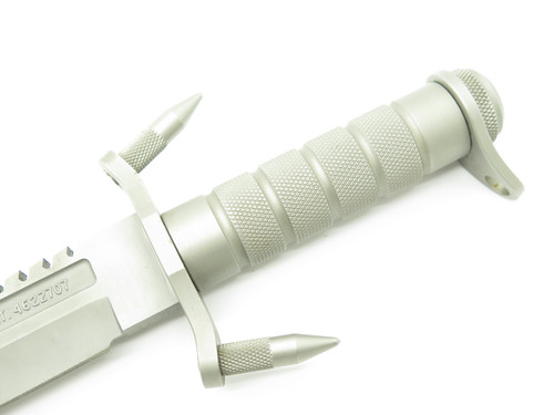 Vintage Buck 184 Buckmaster 6.3 Last Version 1998-99 Fixed Bowie Navy Seal Knife