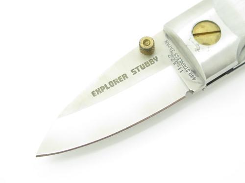 Gutmann Explorer Stubby 11-322 G. Sakai Seki Japan Small Folding Pocket Knife