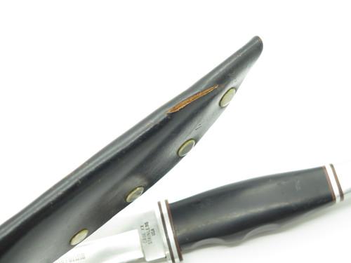 Vtg 1965-69 Case XX Cheyenne 400 Fixed Blade Hunting Knife Phenolic & Sheath