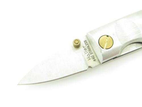 """Vtg Haller Mini Stubby G. Sakai Seki Japan Small 2.25"""" Folding Pocket Knife"""